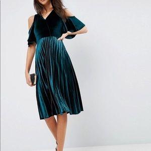 ASOS Velvet dress